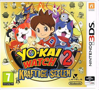 Einfach und sicher online bestellen: Yo-Kai Watch 2: Kräftige Seelen (AT-PEGI) in Österreich kaufen.