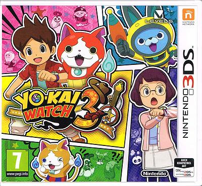 Einfach und sicher online bestellen: Yo-Kai Watch 3 (AT-PEGI) in Österreich kaufen.