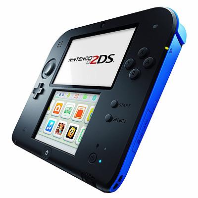 Einfach und sicher online bestellen: Nintendo 2DS blau/schwarz in Österreich kaufen.