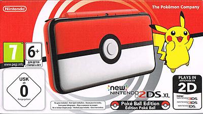 Einfach und sicher online bestellen: Nintendo 2DS XL Pokeball Edition in Österreich kaufen.