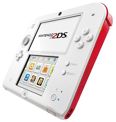 Einfach und sicher online bestellen: Nintendo 2DS rot/weiss in Österreich kaufen.