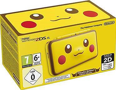 Einfach und sicher online bestellen: Nintendo 2DS XL Pikachu Edition in Österreich kaufen.