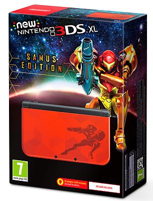 Einfach und sicher online bestellen: Nintendo 3DS XL Samus Edition in Österreich kaufen.