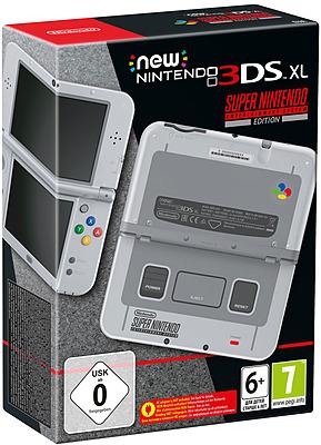 Einfach und sicher online bestellen: New Nintendo 3DS XL SNES Edition in Österreich kaufen.