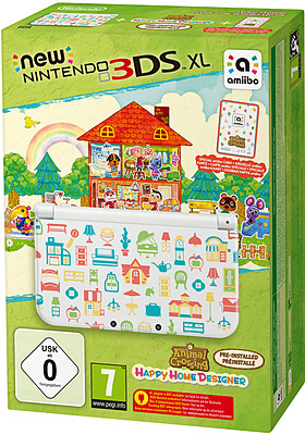 Einfach und sicher online bestellen: New Nintendo 3DS XL + AC Happy Home Designer in Österreich kaufen.