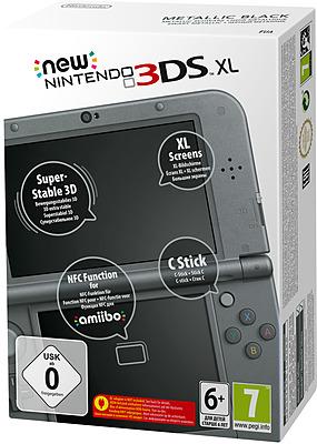 Einfach und sicher online bestellen: New Nintendo 3DS XL schwarz metallic in Österreich kaufen.