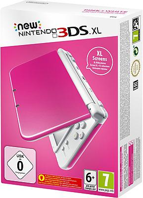 Einfach und sicher online bestellen: New Nintendo 3DS XL pink/white in Österreich kaufen.
