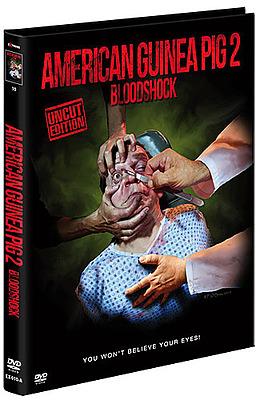 Einfach und sicher online bestellen: American Guinea Pig 2 Limited Mediabook Cover A in Österreich kaufen.