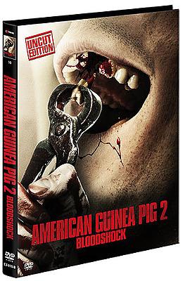 Einfach und sicher online bestellen: American Guinea Pig 2 Limited Mediabook Cover B in Österreich kaufen.