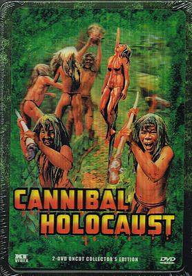Einfach und sicher online bestellen: Cannibal Holocaust Metalpak Edition in Österreich kaufen.