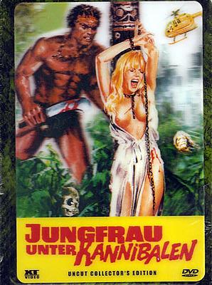 Einfach und sicher online bestellen: Jungfrau unter Kannibalen Metalpak Edition in Österreich kaufen.