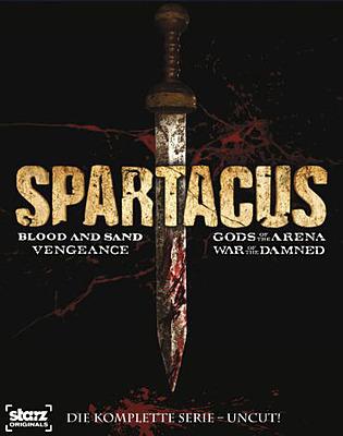 Einfach und sicher online bestellen: Spartacus The Complete Collection Uncut in Österreich kaufen.