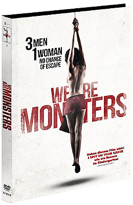 Einfach und sicher online bestellen: We are Monsters Limited Edition Mediabook Cover B in Österreich kaufen.