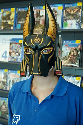 Einfach und sicher online bestellen: Assassin's Creed: Origins Anubis Maske in Österreich kaufen.