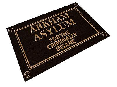 Einfach und sicher online bestellen: Arkham Asylum Fußmatte in Österreich kaufen.
