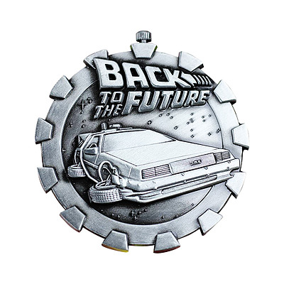 Einfach und sicher online bestellen: Back to the Future Medaille Logo in Österreich kaufen.