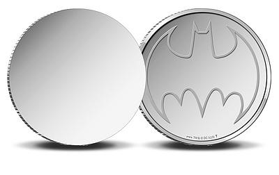 Einfach und sicher online bestellen: Batman Reflektierende Münze Bat-Signal in Österreich kaufen.