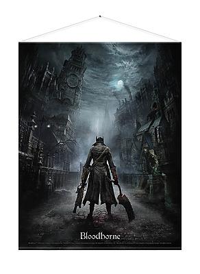 Einfach und sicher online bestellen: Bloodborne Wandrolle Night Street in Österreich kaufen.