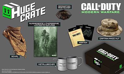 Einfach und sicher online bestellen: Huge Crate Fanbox Call of Duty 4: Modern Warfare in Österreich kaufen.