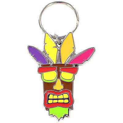 Einfach und sicher online bestellen: Crash Bandicoot Schlüsselanhänger Aku Aku in Österreich kaufen.