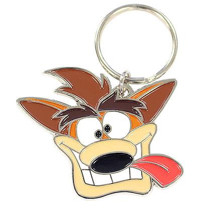 Einfach und sicher online bestellen: Crash Bandicoot Schlüsselanhänger Crash in Österreich kaufen.