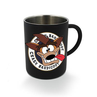 Einfach und sicher online bestellen: Crash Bandicoot Steel Mug in Österreich kaufen.