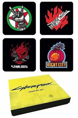 Einfach und sicher online bestellen: Cyberpunk 2077 Coaster Set in Österreich kaufen.