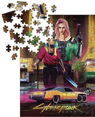 Einfach und sicher online bestellen: Cyberpunk 2077 Kitsch Puzzle in Österreich kaufen.