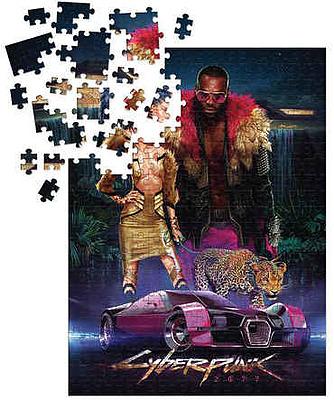 Einfach und sicher online bestellen: Cyberpunk 2077 Neokitsch Puzzle in Österreich kaufen.