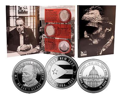 Einfach und sicher online bestellen: Der Pate Sammelmünzen 3er-Pack in Österreich kaufen.