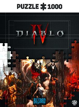 Einfach und sicher online bestellen: Diablo IV Birth of Nephilim Puzzle 1000 in Österreich kaufen.