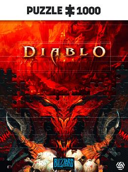 Einfach und sicher online bestellen: Diablo Lord of Terror Puzzle 1000 in Österreich kaufen.