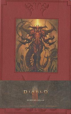 Einfach und sicher online bestellen: Diablo Notizbuch Burning Hells in Österreich kaufen.