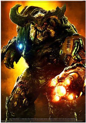 Einfach und sicher online bestellen: Doom Wallscroll Cyber Demon in Österreich kaufen.