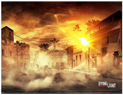 Einfach und sicher online bestellen: Dying Light Wallscroll Parkour in Österreich kaufen.