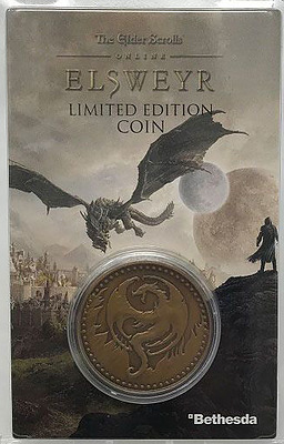 Einfach und sicher online bestellen: The Elder Scrolls Online Elsweyr Sammelmünze in Österreich kaufen.