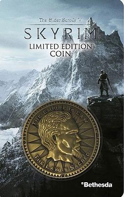 Einfach und sicher online bestellen: The Elder Scrolls Skyrim Sammelmünze in Österreich kaufen.