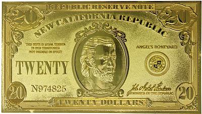 Einfach und sicher online bestellen: Fallout New Vegas Relik 20 Dollar Bill in Österreich kaufen.