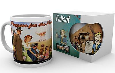 Einfach und sicher online bestellen: Fallout 4 Tasse Prepare for the Future in Österreich kaufen.
