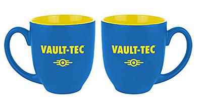 Einfach und sicher online bestellen: Fallout Mug Vault-Tec Blue/Yellow in Österreich kaufen.