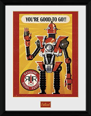 Einfach und sicher online bestellen: Fallout Poster Red Rocket Gasoline in Österreich kaufen.