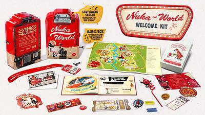 Einfach und sicher online bestellen: Fallout Nuka World Welcome Kit in Österreich kaufen.