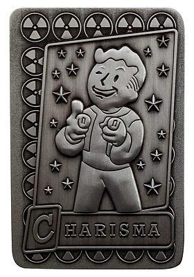 Einfach und sicher online bestellen: Fallout Replik Perk-Karte Charisma in Österreich kaufen.