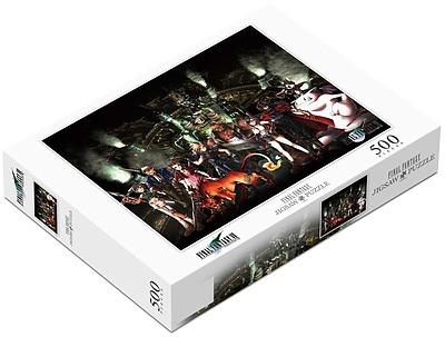 Einfach und sicher online bestellen: Final Fantasy VII Puzzle 500 Teile in Österreich kaufen.