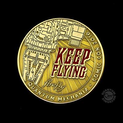Einfach und sicher online bestellen: Firefly Münze Keep Flying 1/1 in Österreich kaufen.