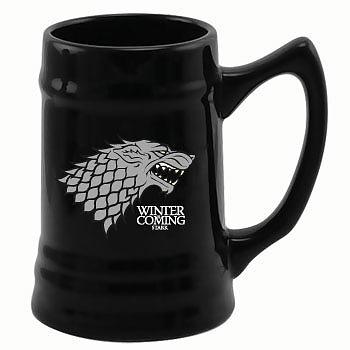 Einfach und sicher online bestellen: Game of Thrones Bierkrug Black Stark in Österreich kaufen.