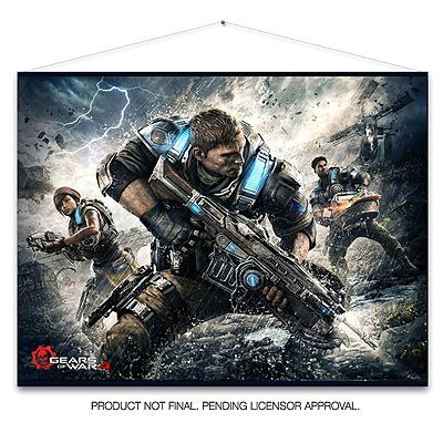 Einfach und sicher online bestellen: Gears of War 4 Wandrolle Keyart in Österreich kaufen.