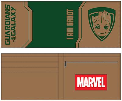 Einfach und sicher online bestellen: Guardians of the Galaxy Geldbeutel I am Groot in Österreich kaufen.