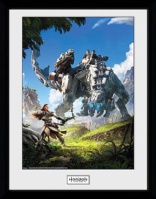 Einfach und sicher online bestellen: Horizon: Zero Dawn Poster im Rahmen Key Art in Österreich kaufen.