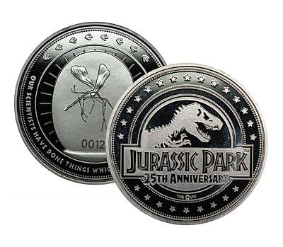 Einfach und sicher online bestellen: Jurassic Park Sammelmünze 25th Anniversary in Österreich kaufen.